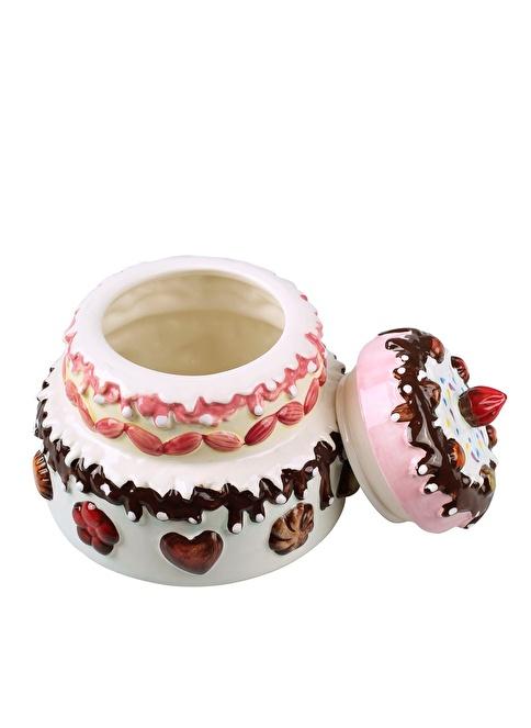 Dekorazon Cake Saklama Kabı Renkli